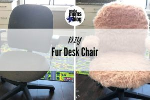 Fur Desk Chair- Facebook Ad