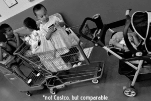Not Costco, but comparable.