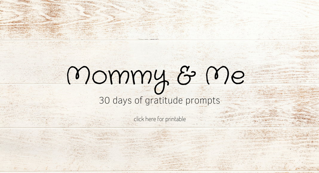 Gratitude journal and prompts