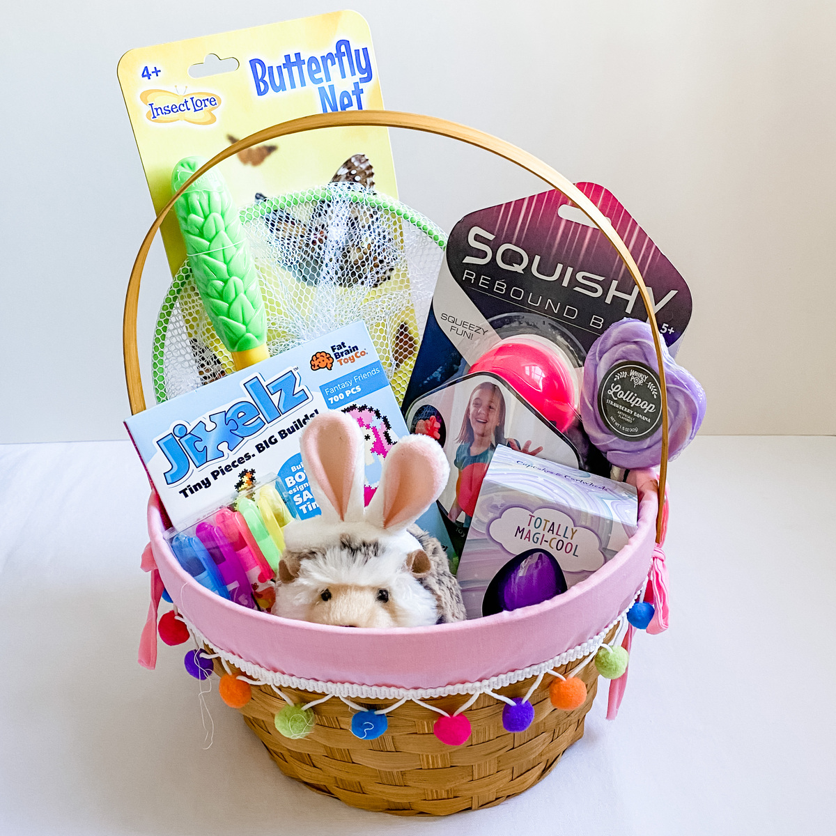 Grade School Girl Easter Basket
