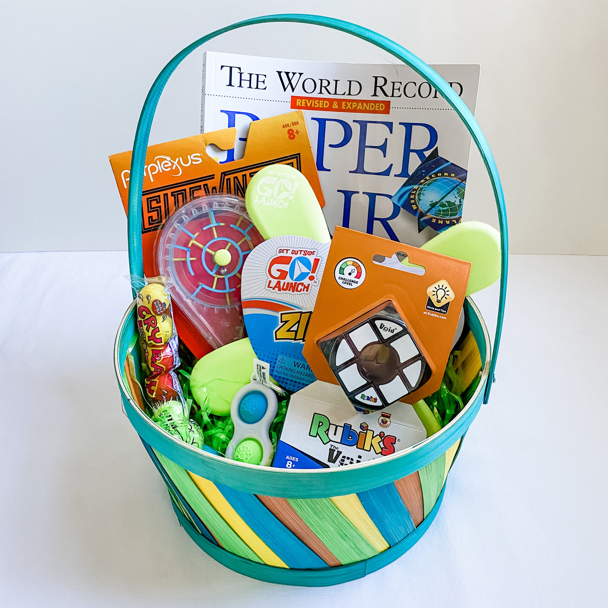 Middle School Boy Easter Basket