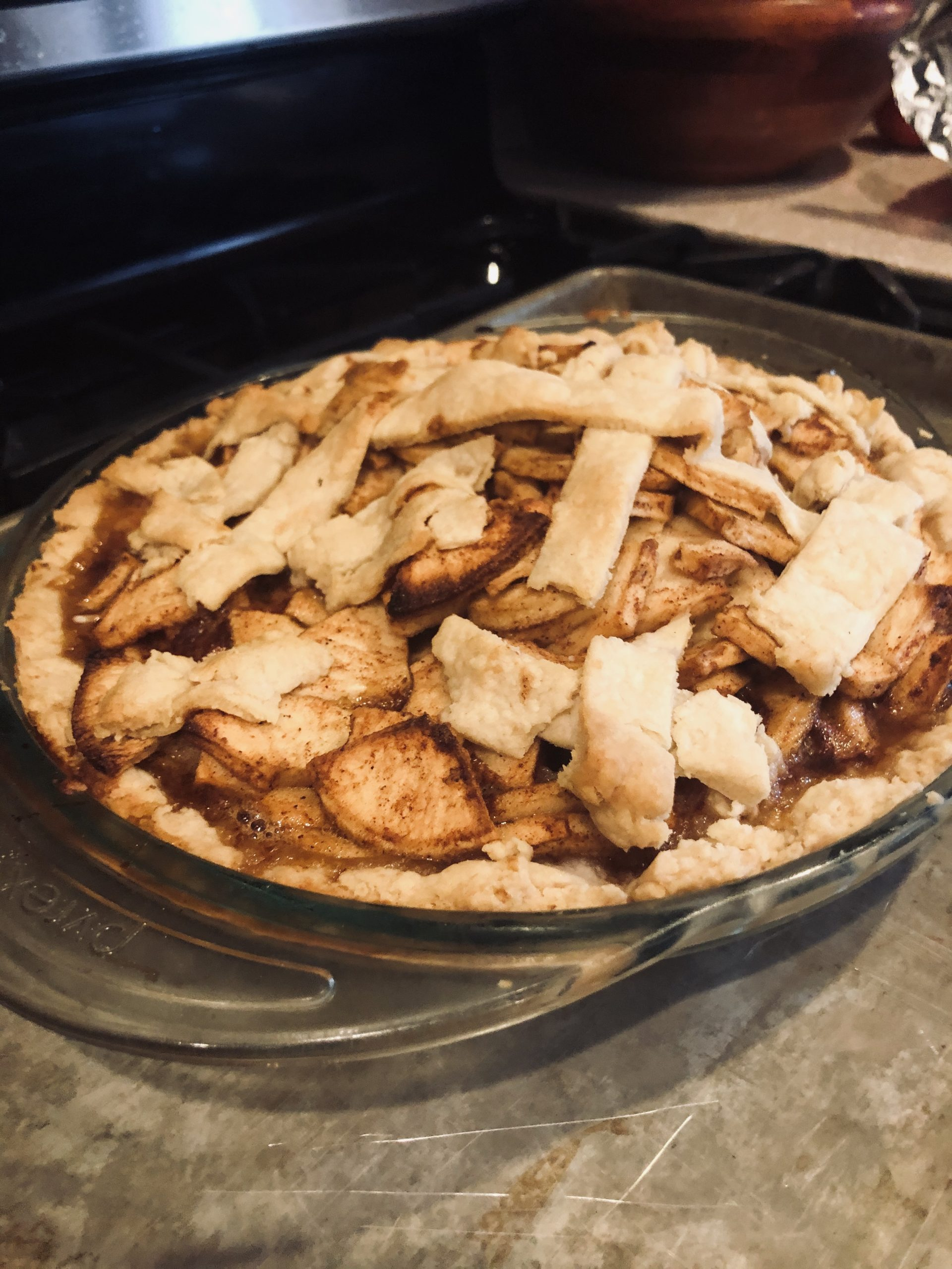 Letting my Son Cook Apple Pie