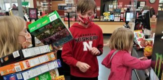 grocery store trips with older kids