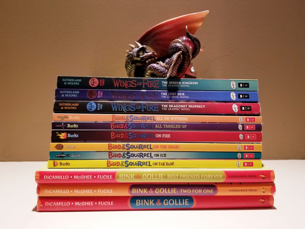 Graphic Novels for Middle School literacy